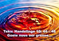 2021 - 05 - 09 Handelinge 10 44 - 48